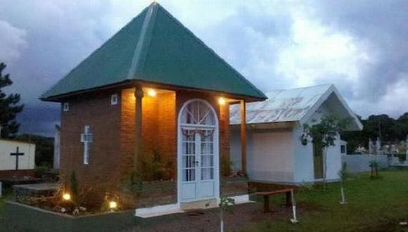 Autoridades locales clausuraron el mausoleo. (misionesonline.net)