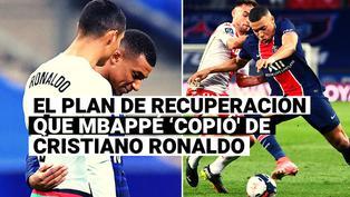 Conoce el trabajo de recuperación que Mbappé 'copió' de Cristiano Ronaldo