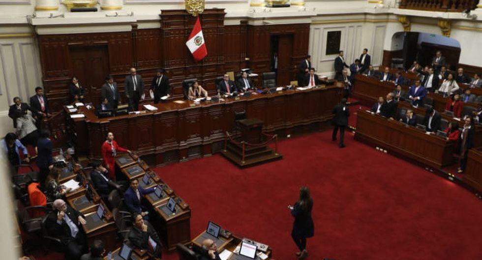 Votación se efectuó a la par del mensaje presidencial. (GEC)