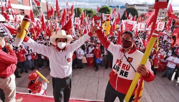 Vladimir Cerrón reiteró que no aspira a ningún cargo público en el caso de que Pedro Castillo gane la segunda vuelta. (Foto: Perú Libre)