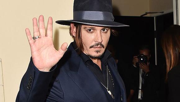 Johnny Depp es el actor más sobrepagado de Hollywood, según revista Forbes. (AP)