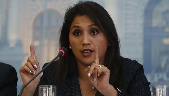 Ana María Solórzano habló sobre polémica sobre uso de viajes. (Mario Zapata)