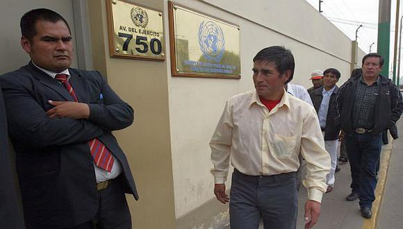 El encuentro se realizó en la sede del PNUD. (Perú21)