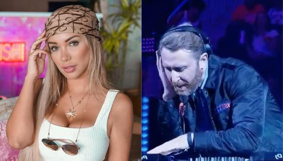 Paula Manzanal reveló que conoció a David Guetta en Ibiza. (Foto: Instagram)