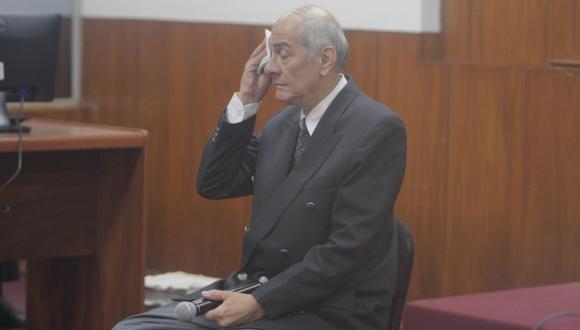 Humberto Rosas dio detalles de las reuniones en el SIN y las visita que recibía Fujimori. (David Vexelman)