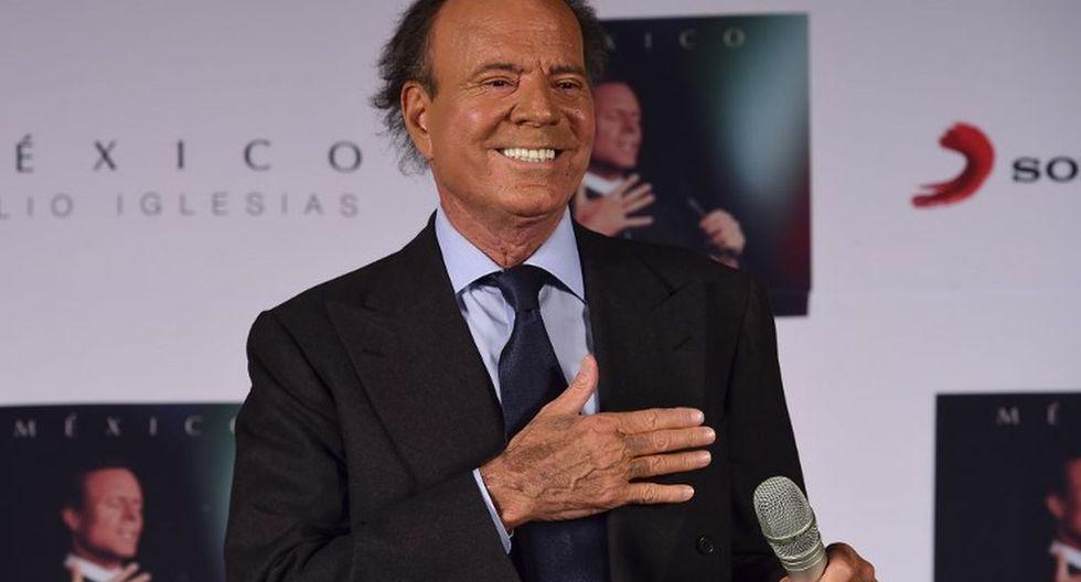 El cantante español sigue dilatando su caso de paternidad. (Créditos: AFP)