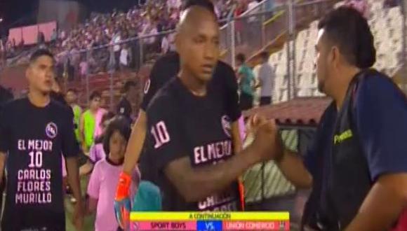 Sport Boys y su merecido homenaje a Carlos 'Kukín' Flores en el estadio Miguel Grau previo al partido contra Unión Comercio por la Liga 1. (Video: Gol Perú)