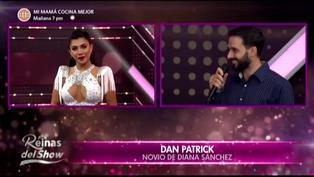 """Diana Sánchez y su novio protagonizan emotivo momento en """"Reinas del show 2″"""