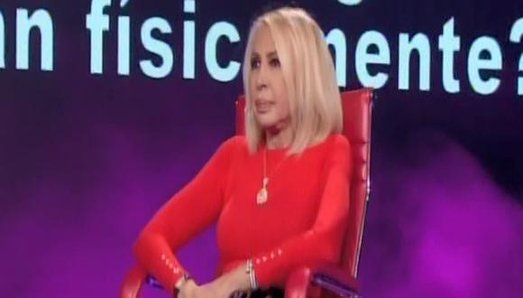 Conductora de televisión indicó que todo sucedió cuando comenzaron a discutir con Cristian Zuárez. (Captura de pantalla)