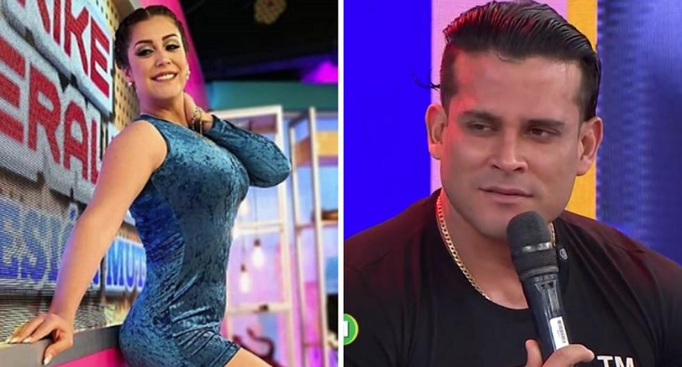 Karla Tarazona y la indirecta que le envió a Christian Domínguez. (GEC)