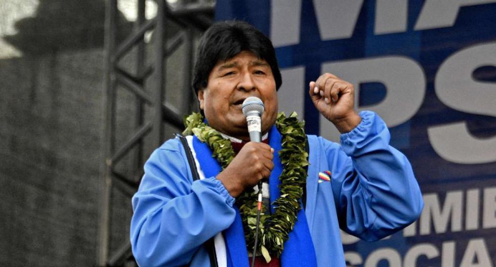 Imagen del expresidente de Bolivia, Evo Morales. (AFP / AIZAR RALDES).