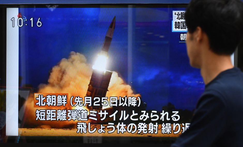 Este es el sexto ensayo que realiza Corea del Norte desde el 25 de julio. (Foto: AFP)