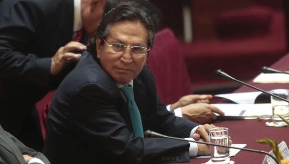 Alejandro Toledo trata de librarse de un posible proceso judicial debido a sus aspiraciones electorales para 2016. (Nancy Dueñas)
