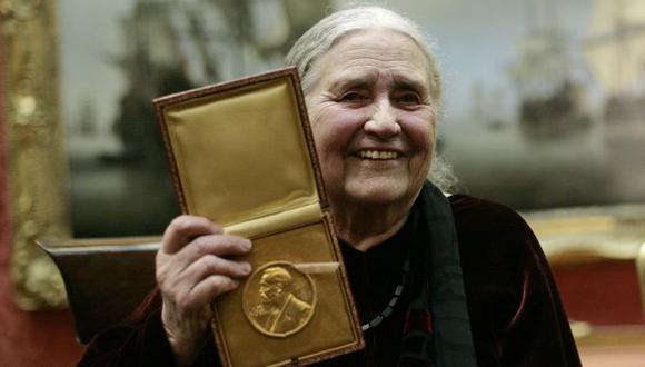 Doris Lessing escribió más de 50 novelas. (AFP)