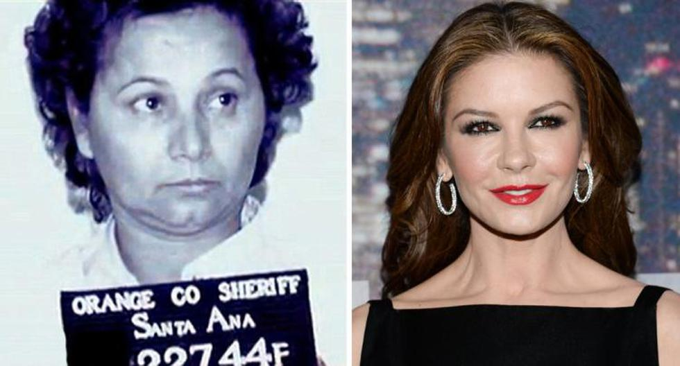 """""""Ha sido todo un reto en mi carrera por la historia que hay detrás de esta mujer"""", dijo Catherine Zeta"""