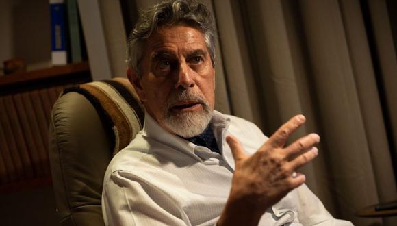 """Francisco Sagasti aseguró que el Partido Morado """"está desconcertado"""" con la actitud de algunos parlamentarios que buscan confrontar al Gobierno. (Foto: Renzo Salazar/GEC)"""