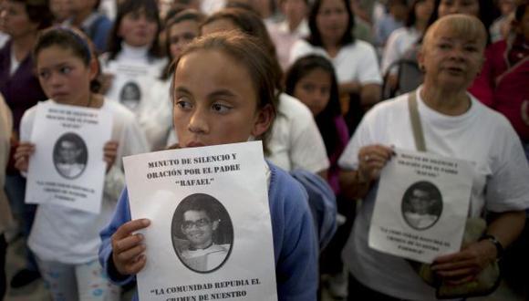 SORPRESA. La muerte de los dos religiosos conmocionó a Bogotá. (AP)