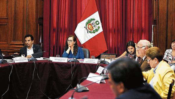 En reserva. La comisión sesionará en reservado con PPK. Será a partir de las 9 en la sede del Ejecutivo. (USI)