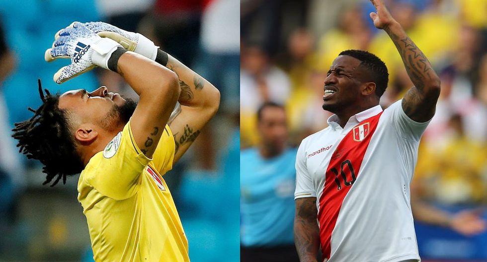 """Jefferson Farfán tras blooper de Pedro Gallese en el Perú vs. Brasil: """"Él tiene todo el apoyo del grupo"""". (Foto: GEC)"""