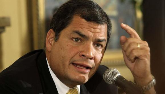 (Rafael Correa)