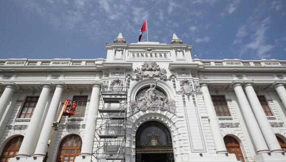 En la sesión de este jueves 4 de febrero, el pleno del Congreso ratificó la eliminación de la inmunidad parlamentaria.  (Foto: Juan Ponce/GEC)