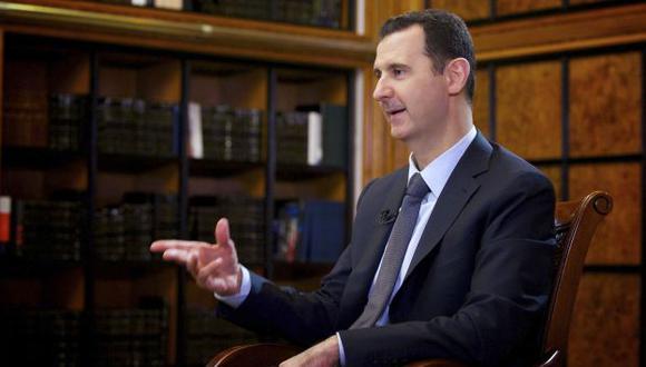 SE ADHIERE. Presidente sirio solicita su adhesión a la convención que prohíbe armas químicas. (Reuters)