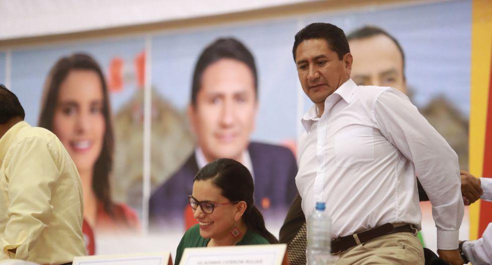 Vladimir Cerrón aseguró que Perú Libre mantiene las puertas abiertas para que participen políticos en las elecciones del 2020. (Foto: GEC)