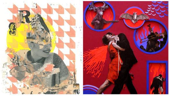 Las obras de Jiefar del Aguila y Kike Congrains se exhibirán hasta el 17 de marzo (Difusión).