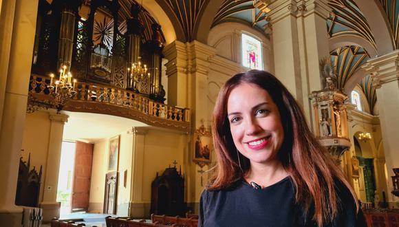 Inés Hernández, conductora de 'Museos sin límites' (TVPerú).