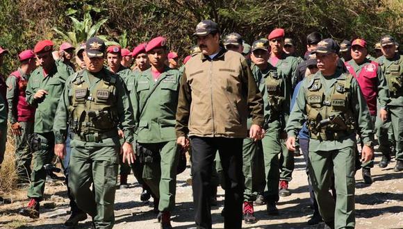 Venezuela   Petróleo, oro y alimentos, el verdadero poder de los militares del régimen de Nicolás Maduro. (EFE)