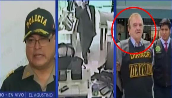 'Ladrón elegante' es capturado en El Agustino. (Canal N)