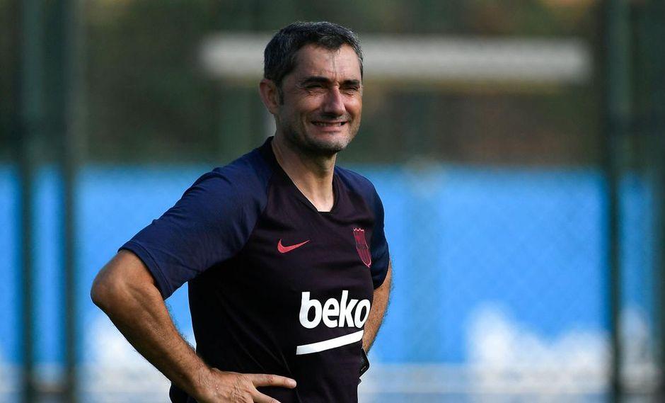 Ernesto Valverde suma un nuevo elemento para la defensa de Barcelona. (Foto: AFP)