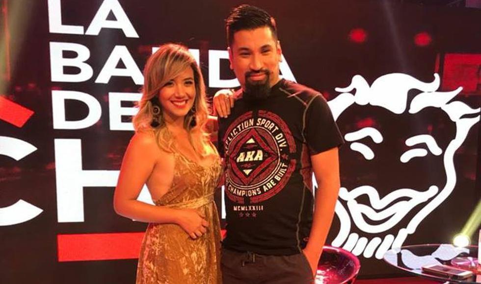 Aldo Miyashiro y Sandra Vergara (@bandadelchino)