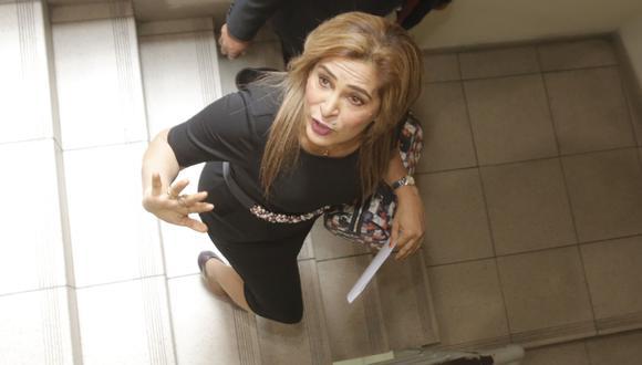 Maritza García pertenece al bloque disidente presidido por Kenji Fujimori. (Piko Tamashiro)