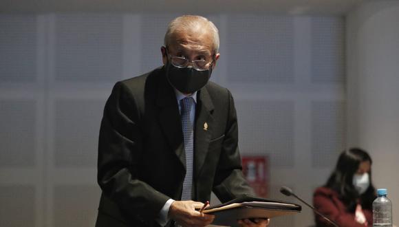 Pedro Chávarry presentó sus descargos ante la Junta Nacional de Justicia (Renzo Salazar/ GEC).