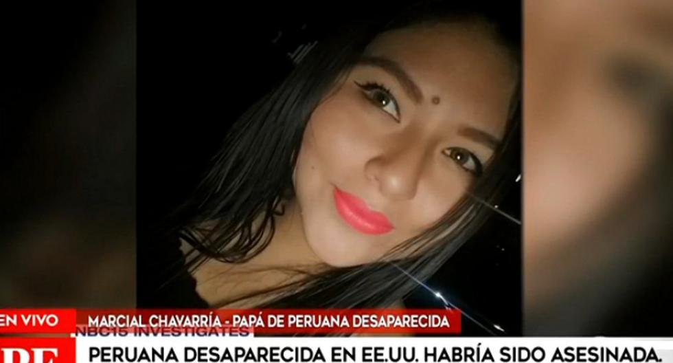 EE.UU.: encuentran cuerpo dentro de una maleta que sería de peruana desaparecida en julio pasado
