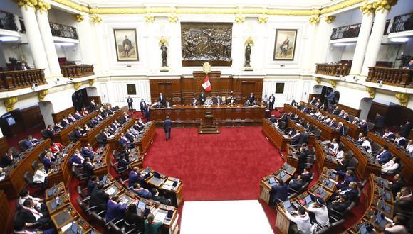 El Congreso de la República debatió el tema antes de iniciar el llamado Pleno Agrario. (Foto: GEC)