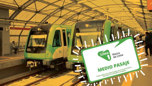 Metro de Lima: Conoce cómo obtener el medio pasaje para escolares y universitarios