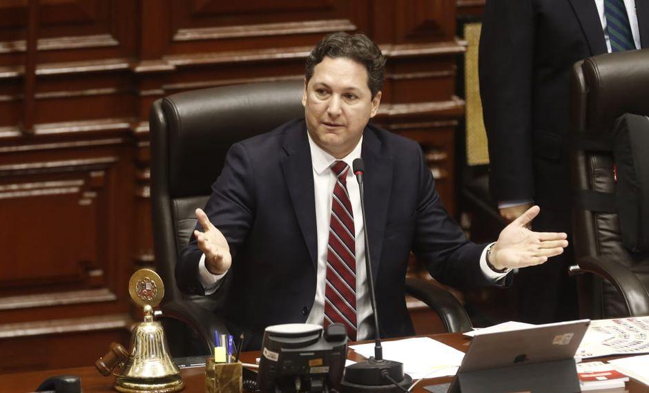 Presidente del Congreso (Foto: GEC/ César Campos)