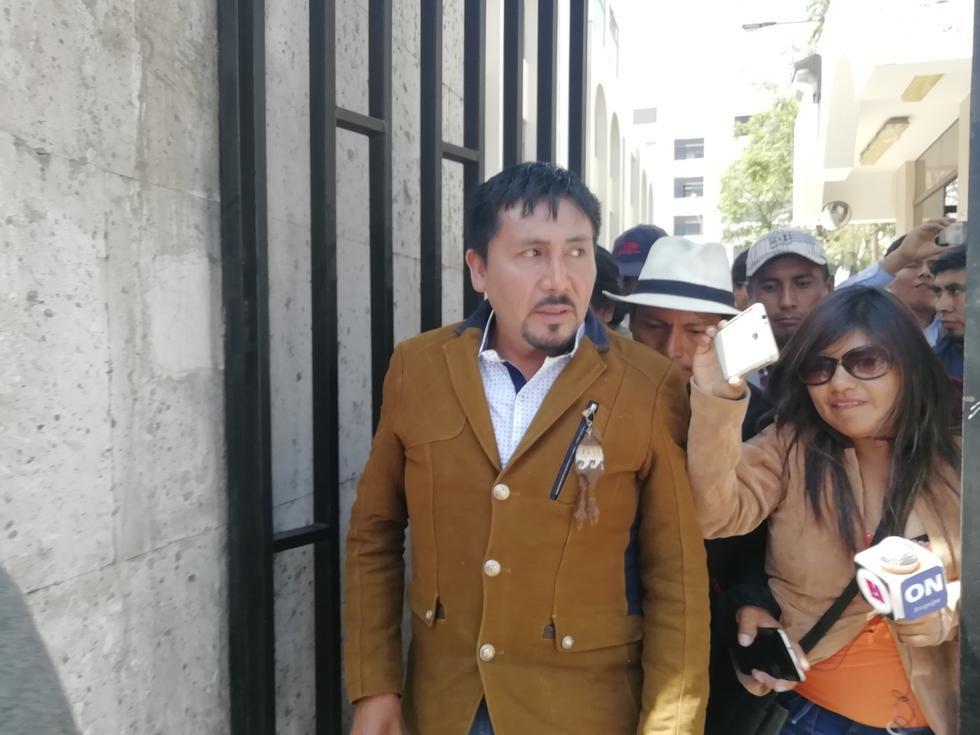 Candidato al gobierno regional dice que juicio tiene tintes políticos. (Miguel Idme)