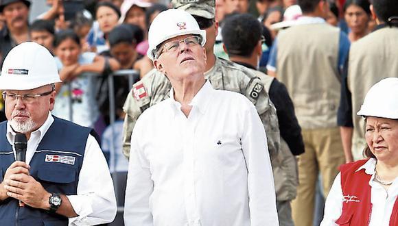 Presidente atacó al Congreso. (MarioZapata/Perú21)