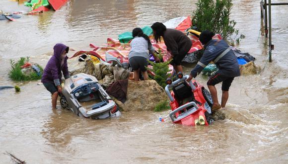 Inundación dejó cuantiosas perdidas materiales