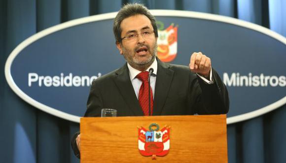 Defiende a la ministra Jara. (Rafael Cornejo)