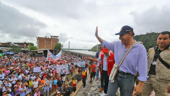 Martín Vizcarra ha empezado su mandato con la aprobación de la mayoría de ciudadanos. (USI)