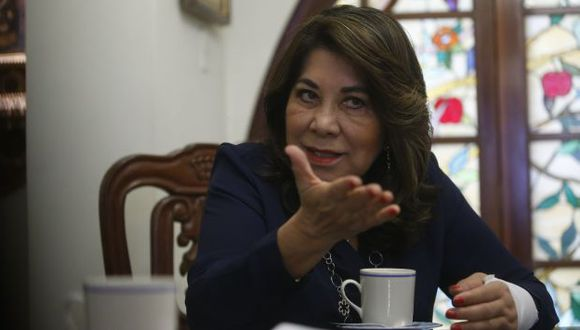 No lo acepta. Martha Chávez cree que el JNE aún puede nombrar a Keiko Fujimori como presidenta electa. (Mario Zapata)