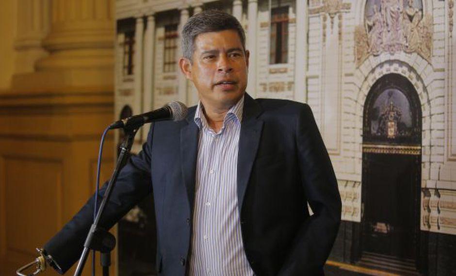 Galarreta reiteró sus críticas a la PCM por contratación de personal (David Huamaní)
