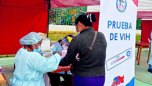 El Minsa indicó que se continúa haciendo pruebas de descarte de VIH. (Foto: Ministerio de Salud)