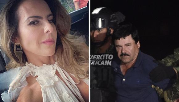 """Kate del Castillo señaló que tras conocer a Joaquín """"Chapo"""" Guzmán vivió el peor episodio de su vida. (Foto: Instagram @katedelcastillo / AFP: Alfredo Estrella)"""