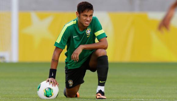 RECUPERADO Neymar fue confirmado en el ataque brasileño. Un triunfo clasificará a los auriverdes. (AP)