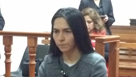 Melisa González Gagliuffi asegura que no rehuirá de la justicia. (Captura de TV)